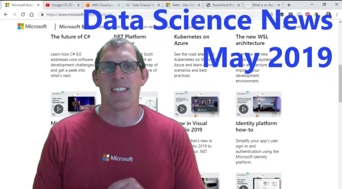 Data Science News for May 2019