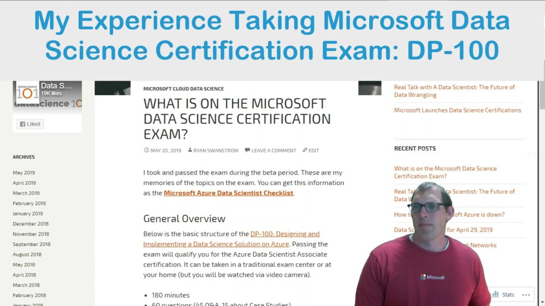 What-is-on-Microsoft-Data-Science Certification Exam