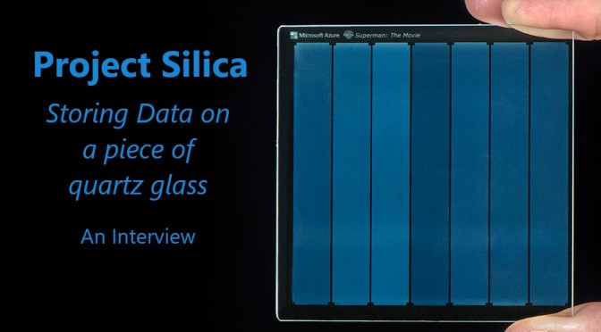 Storing Data On a Piece of Glass – Microsoft's Project Silica